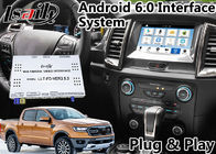 China Android 6.0 Auto Interface Gps Navigation for Ford Ranger / Everest SYNC 3 System LVDS Digital Display Bluetooth OBD company