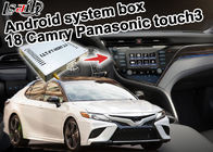GPS Navigation Box Toyota Camry ADAS Lane Monitoring With Touchscreen Interface