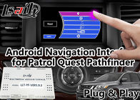 China GPS Navigation Android Auto Interface Support Voice Activation For Nissan factory