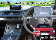 Android 6.0 GPS Navigation Interface for Lexus CT 200h 2016-2018 support original knob Control Mirror link