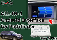 China Nissan Pathfinder Android Car Audio Interface Support OEM Buttons Control factory