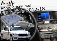 China GPS Navigation Car Multimedia Interface For Infiniti Q70 / M25 M37 Support Youtube Video Play factory