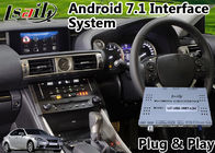 China Android 7.1 Audio Interface System for Lexus Is 350 with Mouse Control Carplay GPS Navigator factory