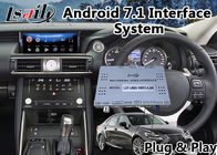Android 7.1 Car Multimedia System for 2017-2018 Lexus Is 200t Mouse Control with GPS Navigation