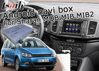 Real Time Offline GPS Navigation System 1.2 GHz Quad / Hexa Core For Volkswagen Sharan