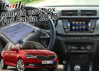 China Skoda Fabia Android Navigation Box With 9.2 Inches Rear View WiFi Video Cast Screen factory