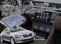 Skoda Superb GPS Navigation Box , Android Car Navigation Box 4 / 2 GB Running Memory