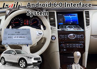 Android 6.0 Car GPS Navigation for 2008-2013 Year Infiniti FX35 / FX37 , Video Interface