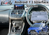 Android Navigation Video Interface for 2014-2017 year Lexus NX 200t Touchpad Control