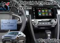 China Android Multimedia Auto Interface Navigation for Honda New Civic support Google Map factory