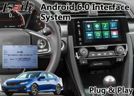 Civic Honda Video Interface , Android GPS Navigation With Youtube Mirror Link