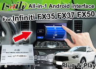 China All-in-1 Android Auto Interface for Infiniti FX 35 FX37 FX50 Integration GPS Navigation , apple carplay ,Android auto factory