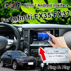 Plug and Play Android Auto Interface for Infiniti FX35 QX70 QX80 support ADAS , Auto Play , Rearview Camera
