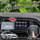 China LVDS All-in-1 Android GPS Navigation Box for Volkswagen Leon Seat MQB MIB MIB2 with phone mirroring , apple carplay factory