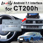Android 7.1 Multimedia Video Interface for Lexus CT200 GPS Navigation Box support OEM mouse control