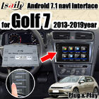 China Android 7.1 multimedia Video Interface integration navigation box  for VW Golf 7 with 32G ROM support apple carpaly factory
