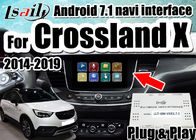 China Android 7.1 Car Video Interface for 2014-2018 Opel Crossland X Insignia support mirrorlink smartphone , double windows company