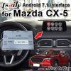 Plug and Play Android 7.1 car video interface for Mazda CX-5 2014-2019 support YouTube play , android navigation ...