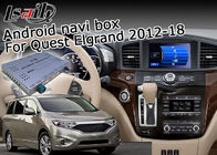 Nissan Elgrand Quest 7.1 Android Navigation Box , GPS Navigation Device Durable