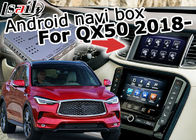 Infiniti QX50 2018 GPS car multimedia interface , Android navigation box interface