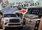 Car Multimedia Interface Android Navigation Box Video Interface Infiniti QX80 2018- GPS