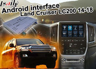 China Toyota Land Cruiser LC200 Android Navigation Video Interface Upgrade carplay android auto factory