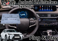 Android 7.1 GPS Navigation Interface For Lexus UX250 Touchpad Control GPS 2018-2020