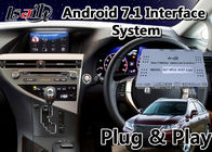 China Android 7.1 Video Interface for 2012-2015 Lexus RX 270 Mouse Control , GPS Navigation RX270 factory