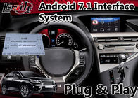 China Android 7.1 Interface Navigation Box for 2012-2015 Lexus RX 450h Mouse Control , Google Play Store factory