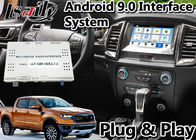 Android 9.0 Auto Interface Gps Navigation for Ford Ranger / Everest SYNC 3 System LVDS Digital Display Bluetooth OBD