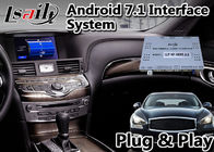 Wireless Carplay Adas GPS Navigation Lsailt Android 9.0 For Infiniti Q70 2014-2020