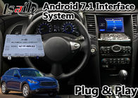 32GB ROM Car GPS Navigation Interface Lsailt Android 9.0 For Infiniti QX70 QX50 QX 2014-2019