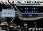 Multi Language Android Navigation Device Video Interface For Lexus LS LS500 LS500H 2019-2020