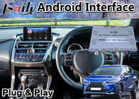 Lsailt Android Navigation Video Interface for Lexus NX 200t Touchpad Control Car GPS Box nx200t