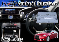 Lsailt Android Navigation Video Interface for Lexus IS 300h 2013-2016 Mouse Control with Google Waze Map IS300H