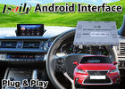 Lsailt Lexus Video Interface for CT 200h Knob Control 16-20 Model , Android 9.0 Car GPS Navigation for CT200H Carplay