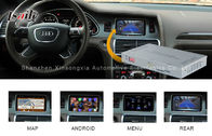 China Mirrorlink Audi Video Interface with Video Recorder , Audi A8L A6L Q7 Multimedia Interface factory