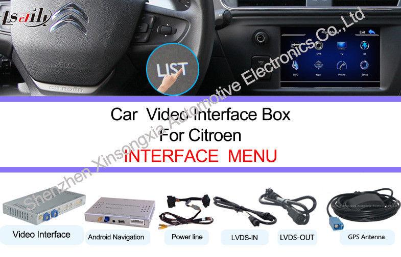 In Dash Car Navigation Systems : Ghz hd in dash car navigation systems for citroen