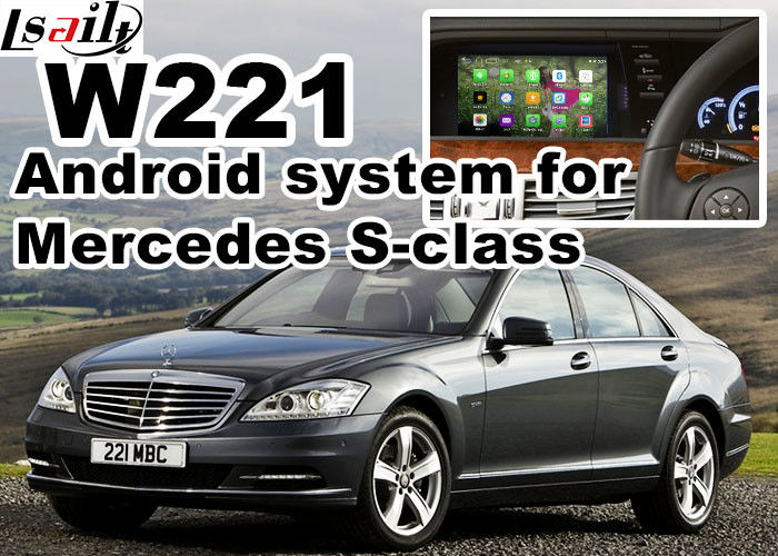 Android 5 1 Auto Navigation System Box WIFI BT For Mercede