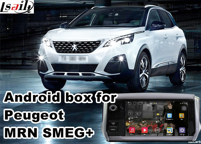 Android Car Gps Navigation Box & Video Interface For 2016 Peugeot