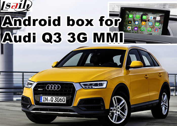 Android multimedia video interface for Audi Q3 , gps navigation devices