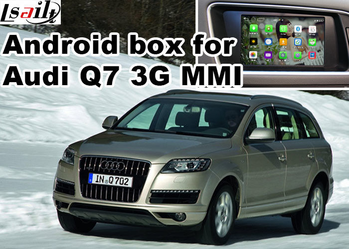 Android car navigation box for Audi Q7 multimedia video interface