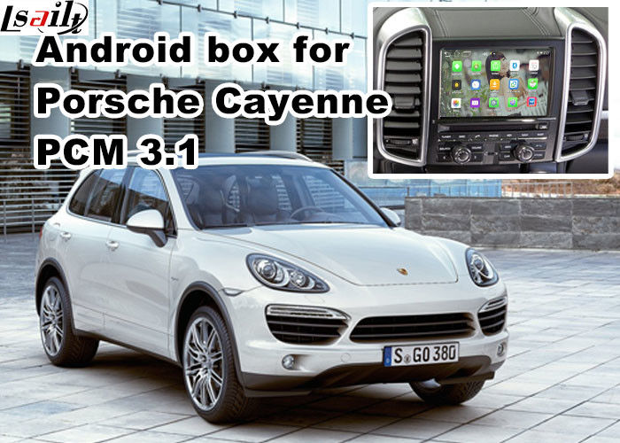 GPS car navigation box video interface for 10-16 Porsche PCM 3 1