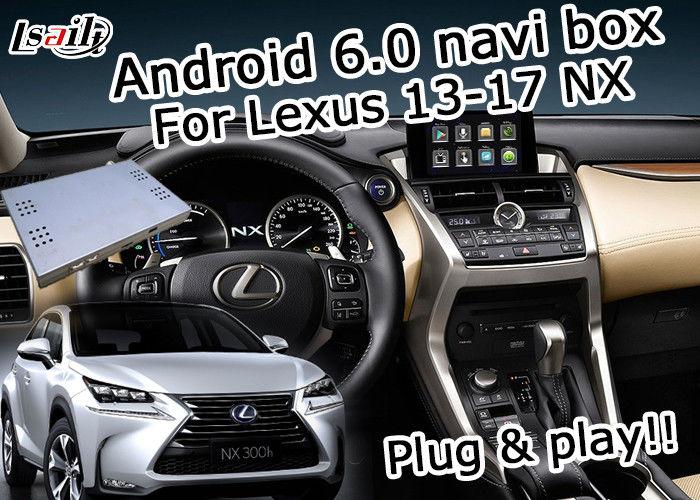 Lexus NX200t NX300h GPS Navigation Box knob touchpad control waze