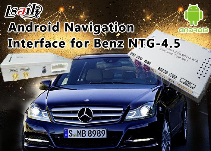 Mercedes-Benz E Class NTG 4 5 GPS Navigation Android Auto