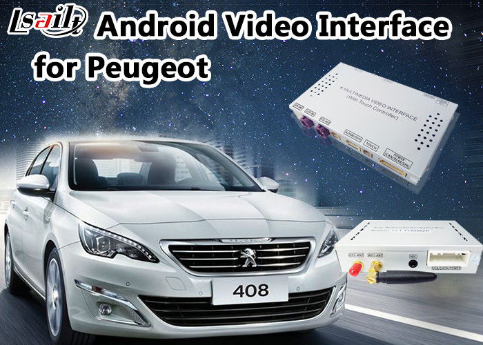 android 6 0 auto interface for peugeot 408 mnr smec with online map google waze. Black Bedroom Furniture Sets. Home Design Ideas