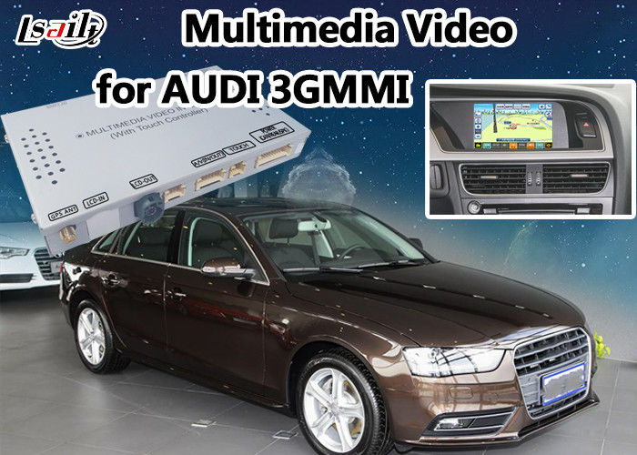 Audi Multimdedia Interface for A4L / A5/ Q5 support Rearview Camera on