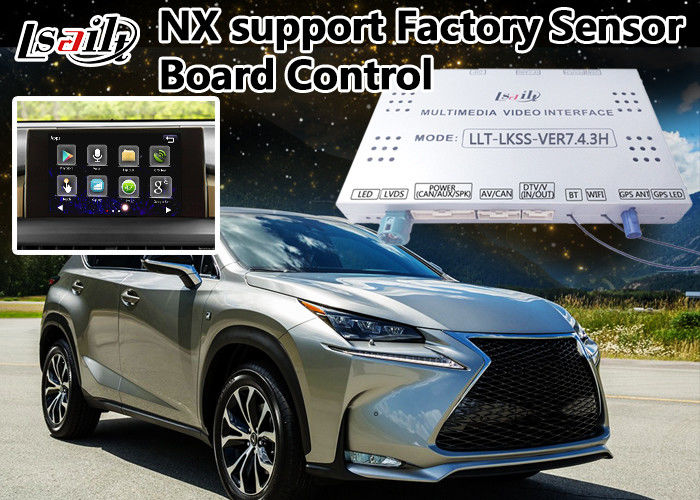 Lexus Nx Car Video Interface , Android Navigation Box Two In