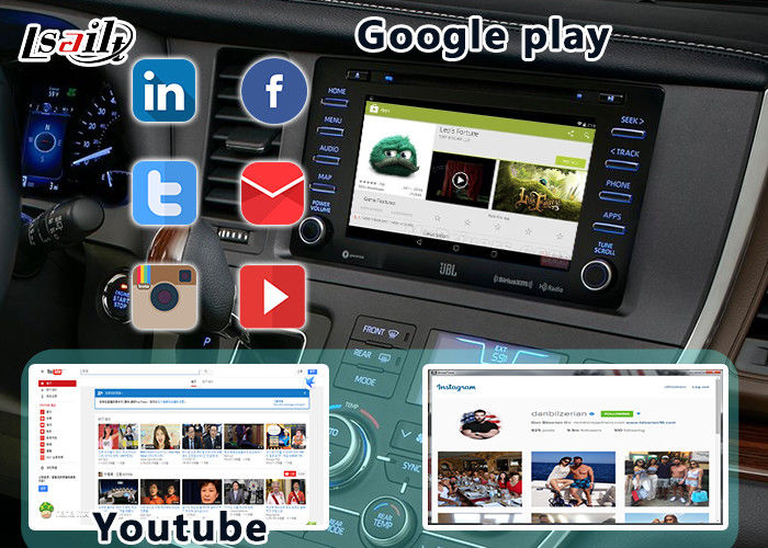 Android 6 0 Toyota Sienna Android Auto Interface 4-Core