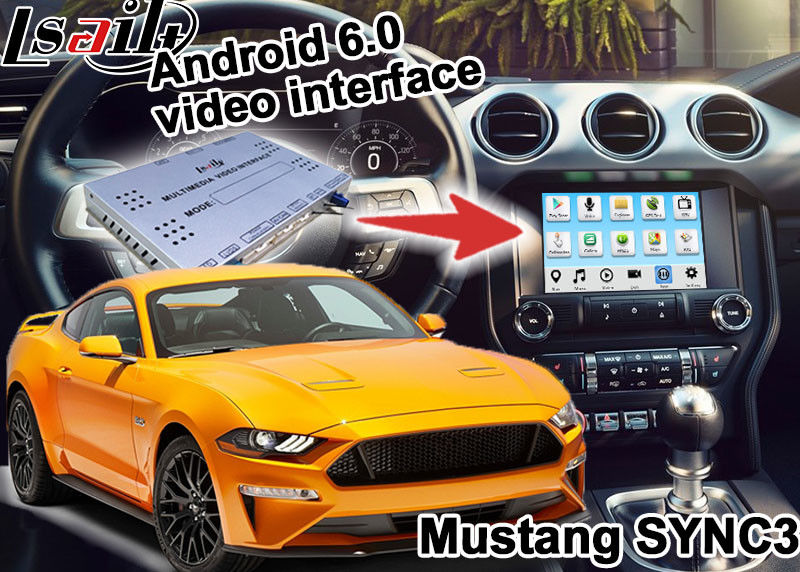 Mustang SYNC 3 Android GPS navigation box WIFI BT Google apps video